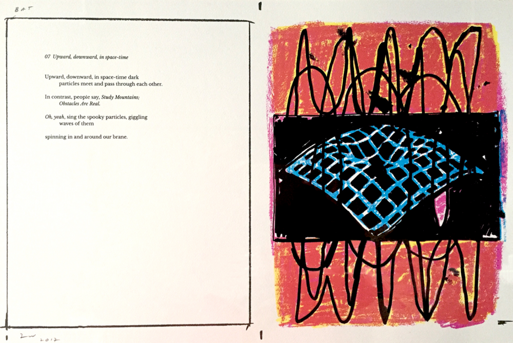 """""""Waves need to move to be"""": Terry Winters & Mark Melnicove collaborate at Able Baker"""