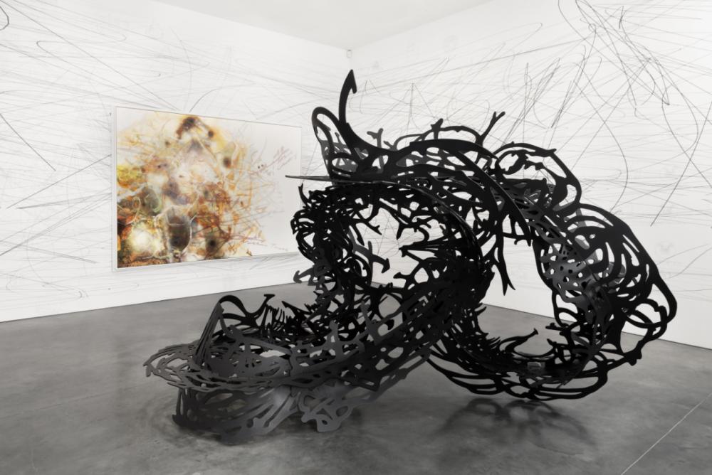 Matthew Ritchie Transforms Data Into Beautiful Abstract Art