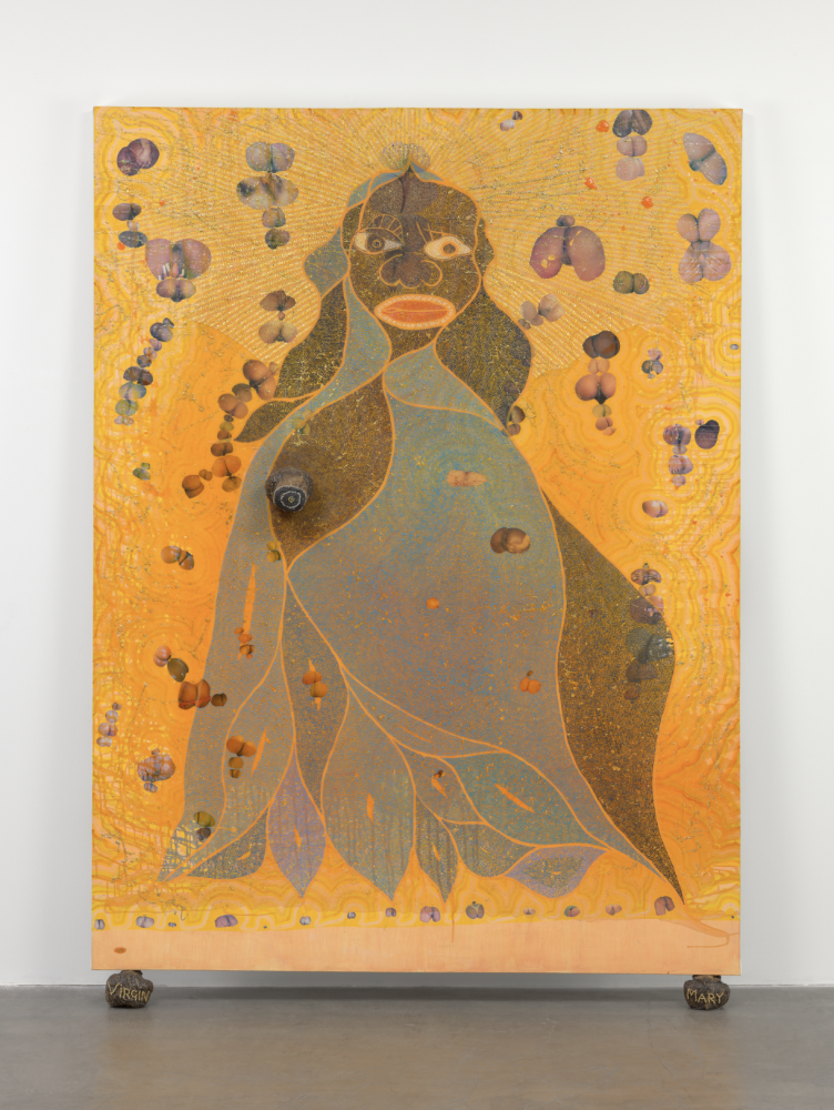 Collector Steven Cohen Gifts Chris Ofili's Holy Virgin Mary to MoMA