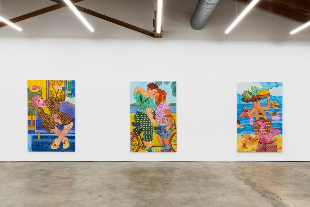 Installation View of Gest (December 15, 2020–January 31, 2021) Nino Mier Gallery, Los Angeles, CA