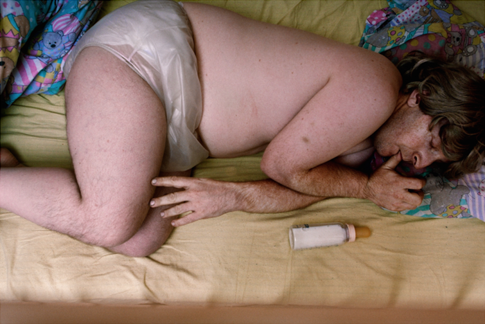 Polly Borland's Photographs Reveal the Weird and Wonderful World of Adult Babies