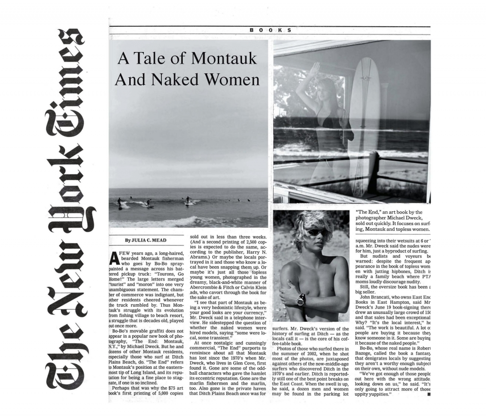 A Tale of Montauk and Naked Women