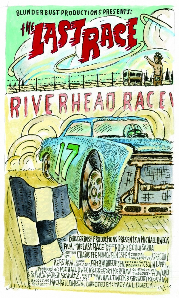 The Last Race - Illustrated Poster