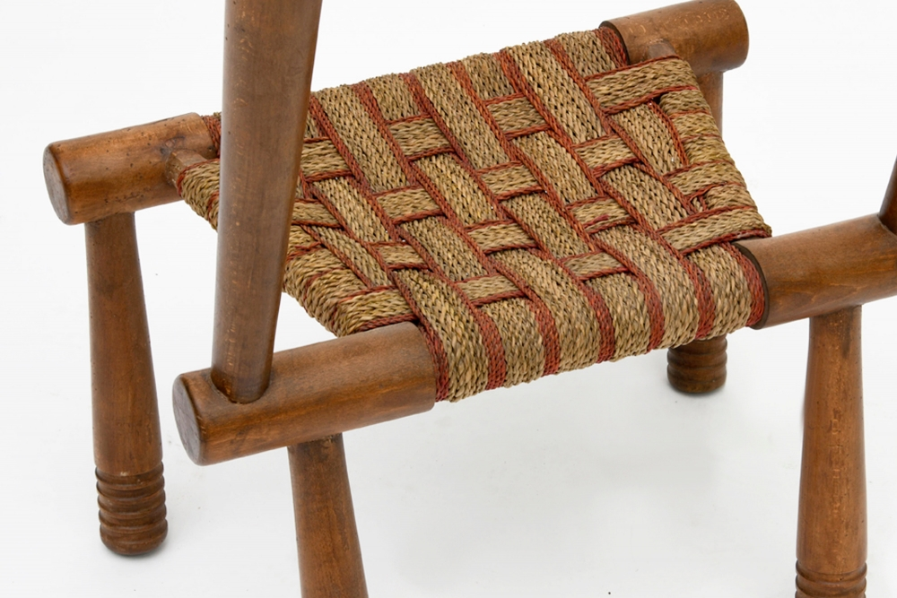 Detail of the chair by Gaston Castel, c. 1924.