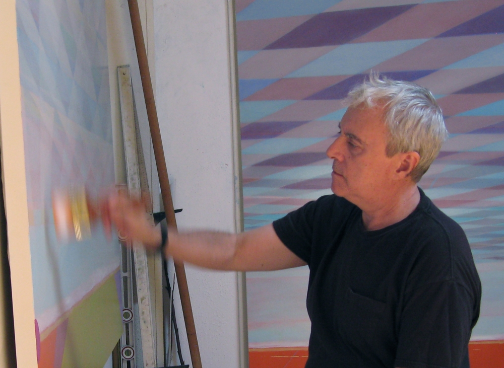 Image of Greg painting