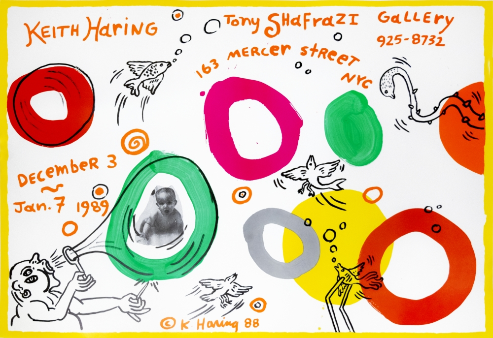 Keith Haring, Tony Shafrazi Gallery