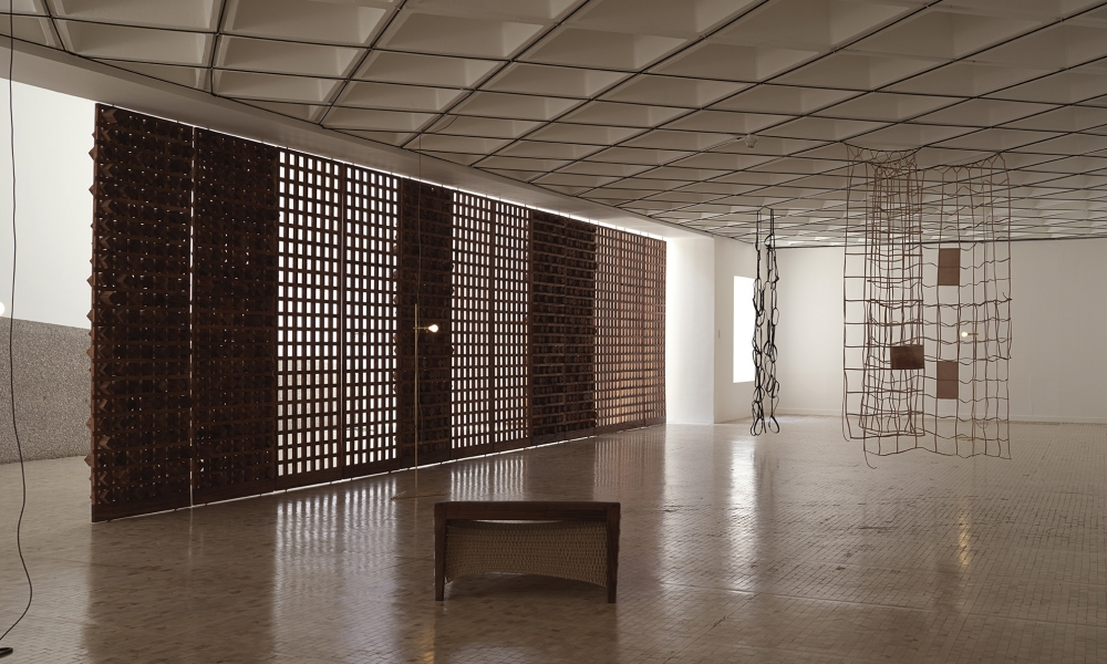 Leonor Antunes participates in Museo Tamayo in Mexico City with her exhibition Discrepancies With C.P
