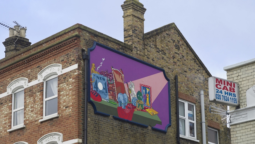 Abad's murals commission for the Brent Biennial