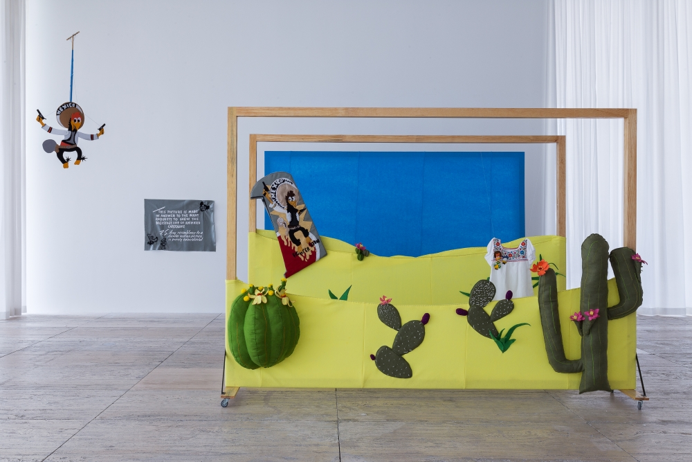 wendy cabrera rubio and Charlie godet thomas - how to make a painting behave like a landscape