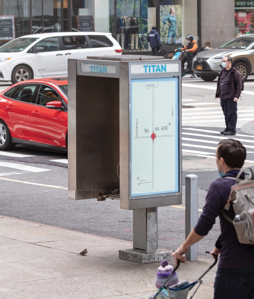 "press: Pay Phones Turned Into Public Art, in ""Titan"""