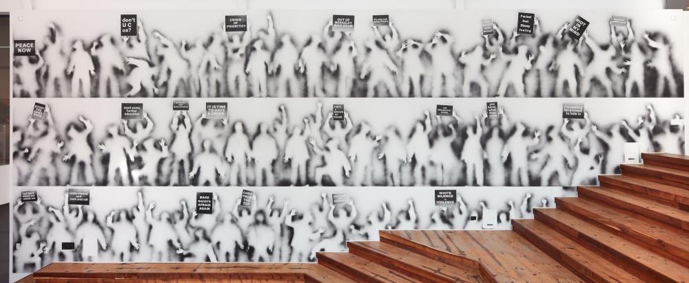 Carlos Amorales participa en BAMPFA en Berkeley con su exposición Ghost Demostration