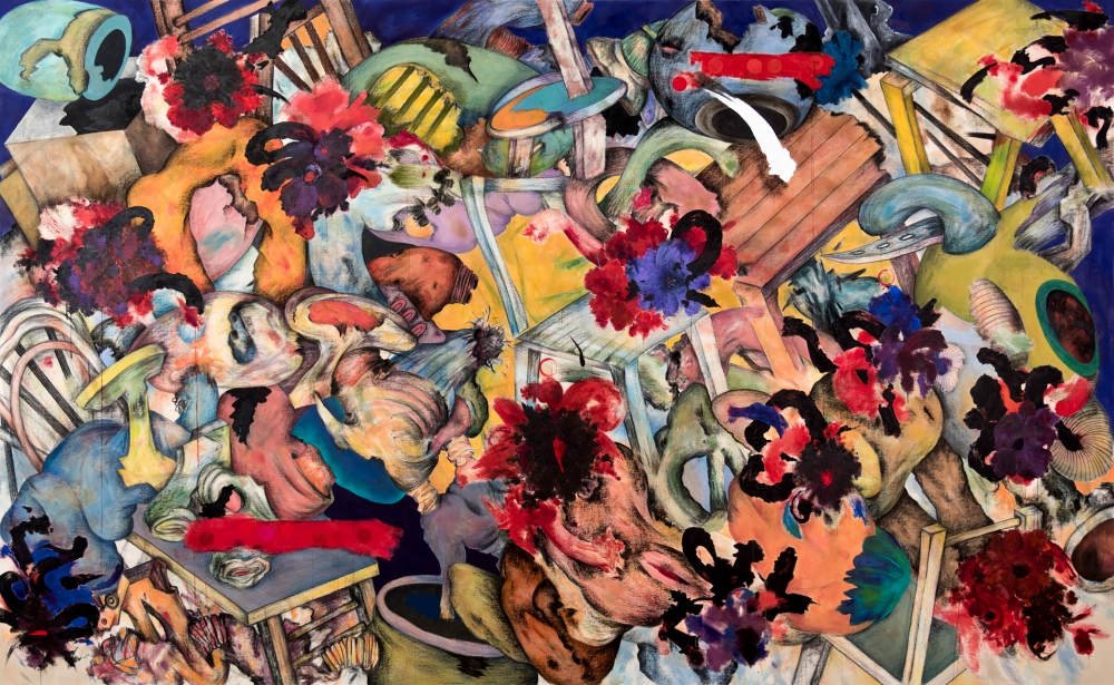 Ahmed Alsoudani named Artist-in-Residence at The Fabric Workshop and Museum, Philadelphia