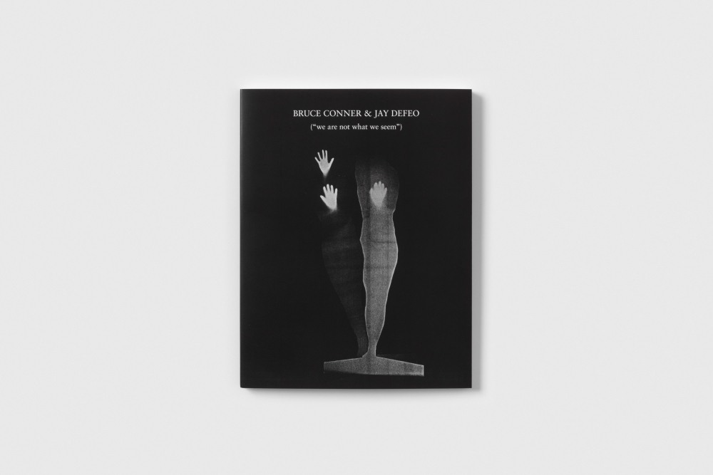 """BRUCE CONNER & JAY DEFEO: (""""we are not what we seem"""") Cover"""