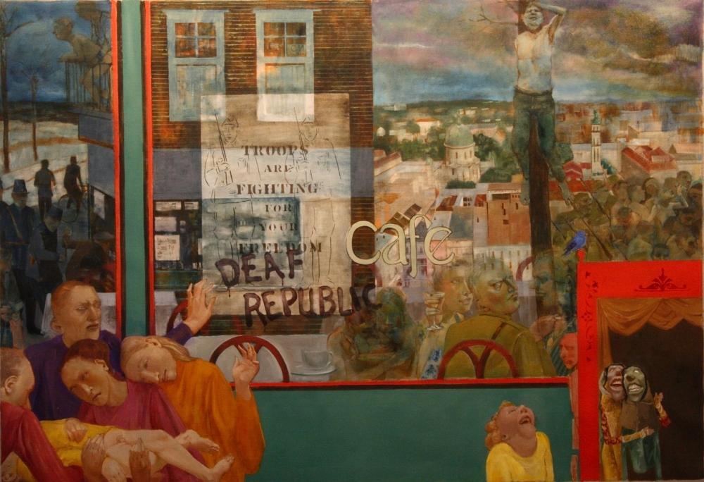 "James Stewart: Recent Work - Influenced By Ilya Kaminsky's ""Deaf Republic"""