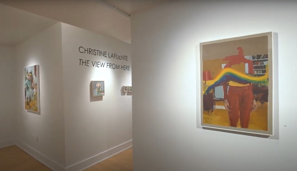 Video Walkthrough: Christine Lafuente: The View From Here + Joseph Lozano: Mythologies + A Group Show: Bouquet