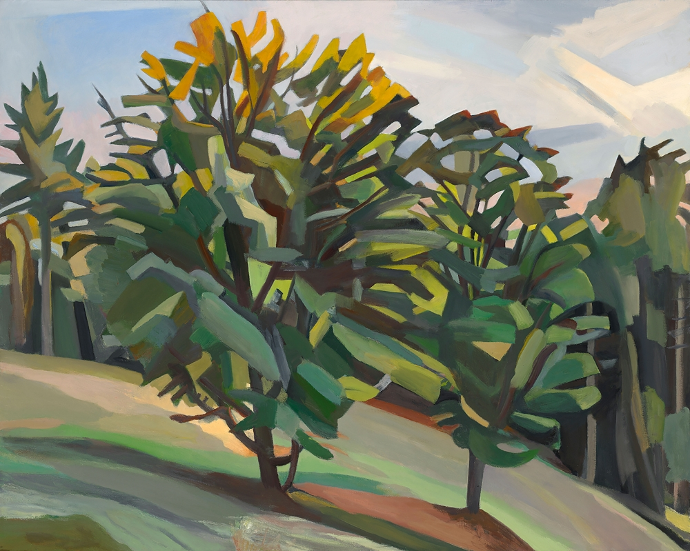 Martha Armstrong, Start Of Fall, Oil On Canvas
