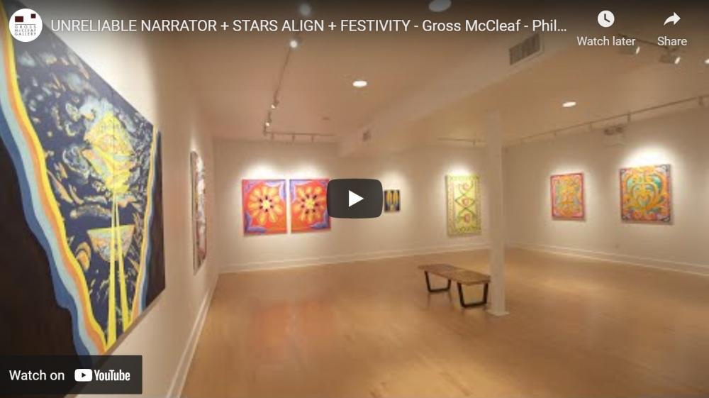 Video Walkthrough: Kati Gegenheimer: Stars Align, Sterling Shaw: Unreliable Narrator + Ed Bing Lee: Festivity