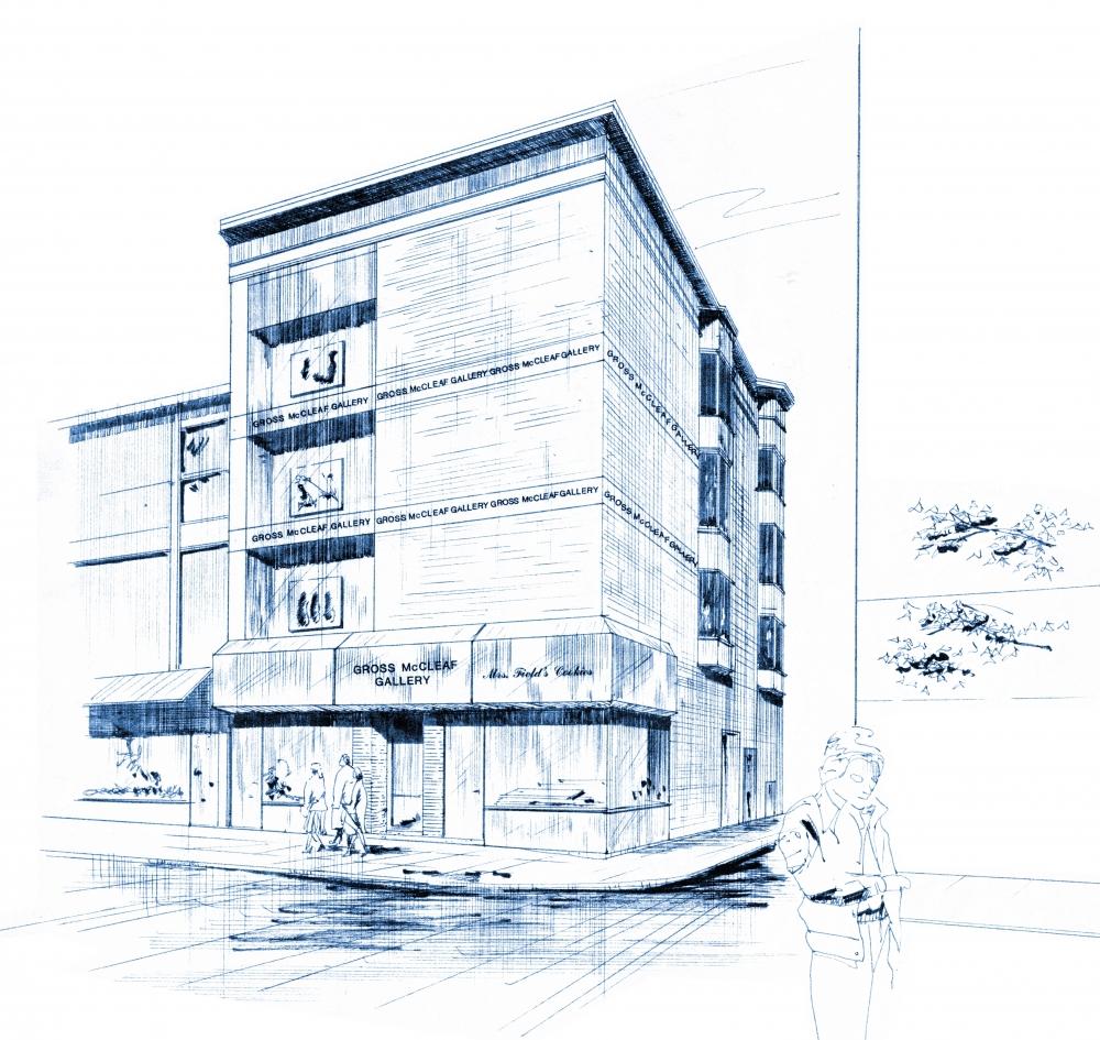 Gross McCleaf Blueprint Sketch