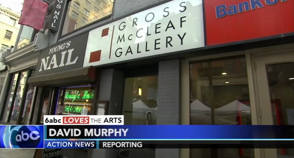 Gross McCleaf Gallery on ABC Action News: 6abc Loves the Arts