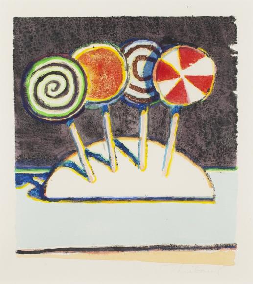 Wayne Thiebaud - Artists - Allan Stone Projects