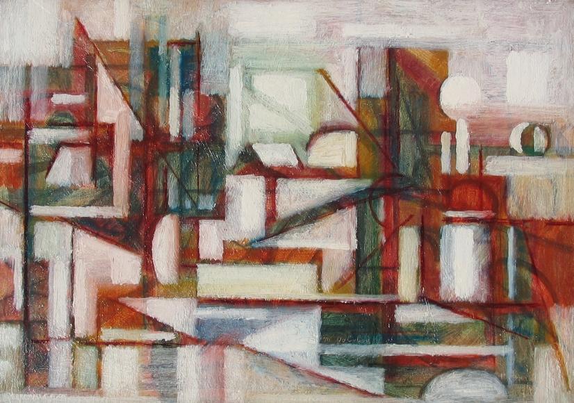 Maurice Golubov, Winter Landscape