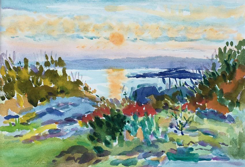 Nell Blaine, Quiet Harbor