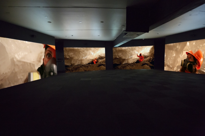 JANET BIGGS_Can't Find My Way Home (Installation, Blaffer Museum)