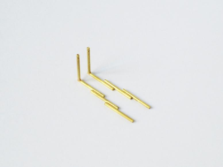 Marc Monzo earrings 1mm
