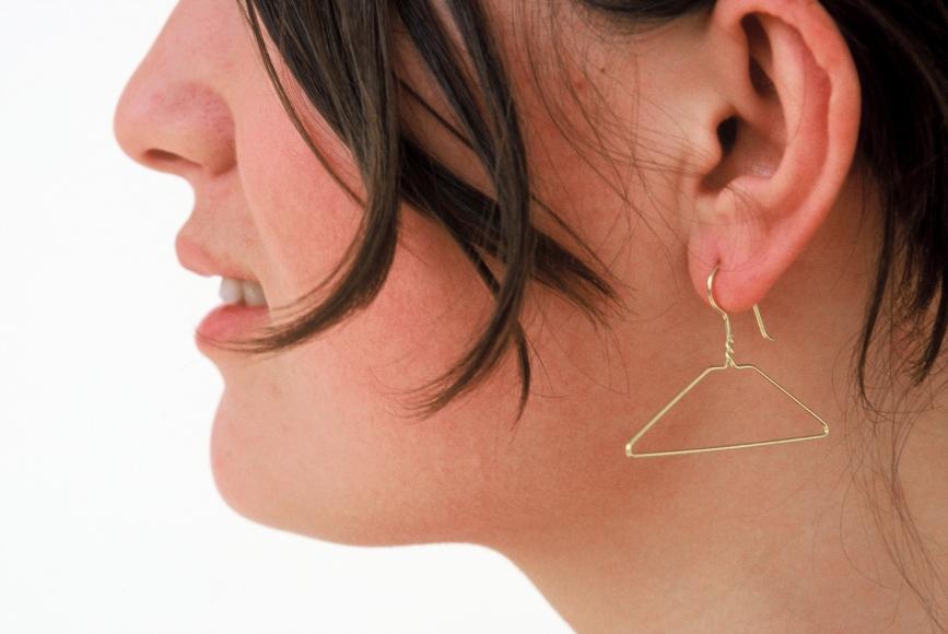 Jiro Kamata Goldhanger earrings.