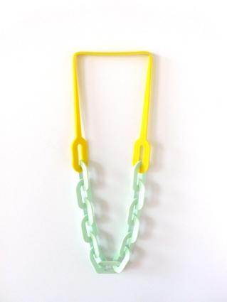 Jantje Fleischhut Precious Plastic necklace