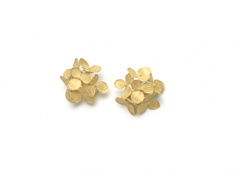 John Iversen Hydrangea earrings