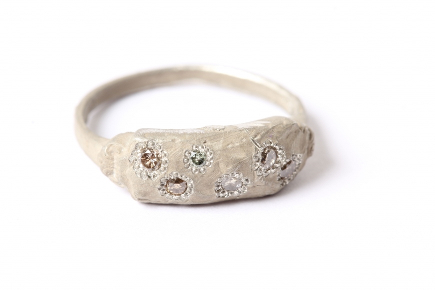 Karl Fritsch diamond ring