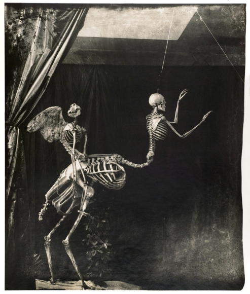 Joel-Peter Witkin, Cupid and Centaur in the Museum of Love, 1992