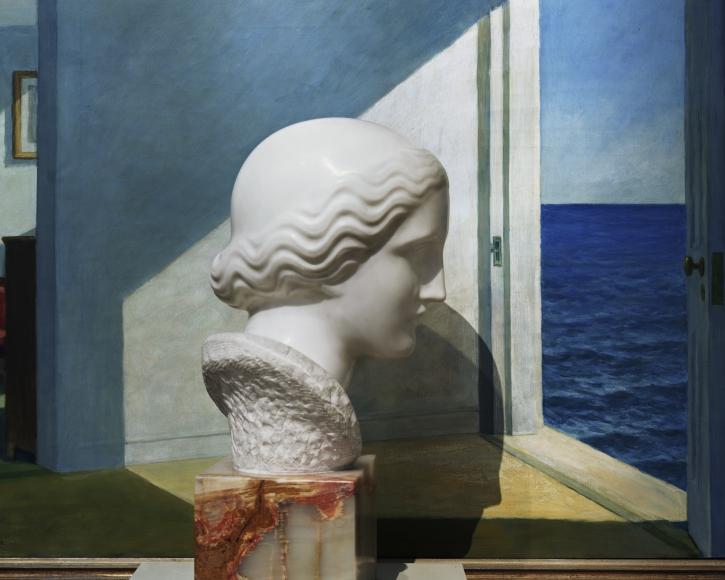 Abelardo Morell, Nadelman / Hopper - Yale Art Gallery, 2008