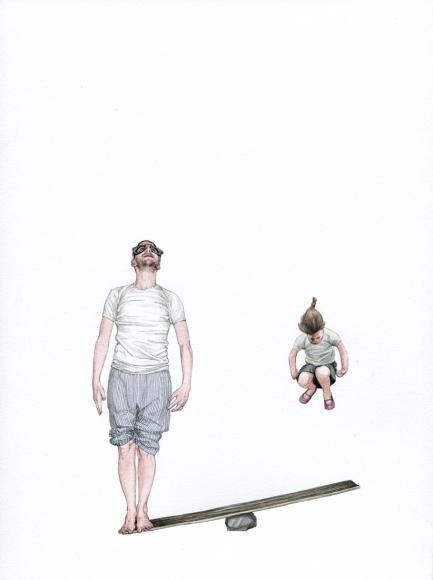 Fabien Mérelle, Apesanteur, 2011