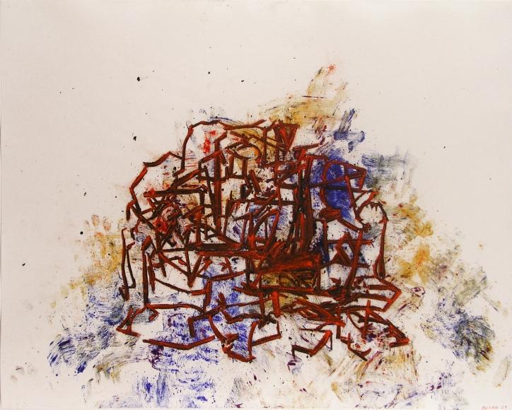Tony Bevan, Still Life, White, 2009