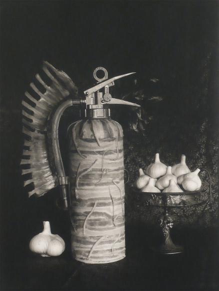 Michiko Kon, Bacon, Fire Extinguisher and Garlic, 1998