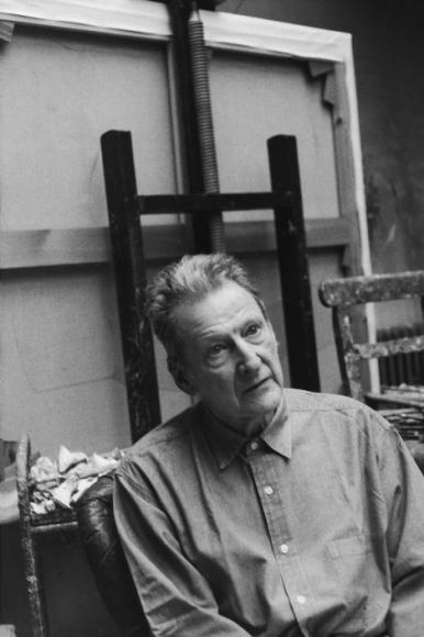 Henri Cartier-Bresson, « Lucien Freud, 1997 »