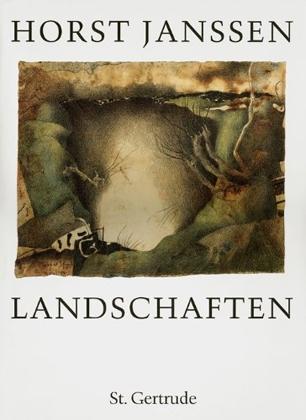Horst Janssen. Landschaften (Landscapes). Verlag St. Gertrude, Hamburg (Germany), 1989.