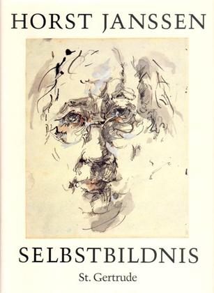 Horst Janssen. Selbstbildnis (Self-portrait). Verlag St. Gertrude, Hamburg (Germany), 1994.