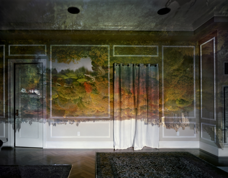 Abelardo Morell, Camera Obscura: View of Central Park Looking North, Fall, 2008