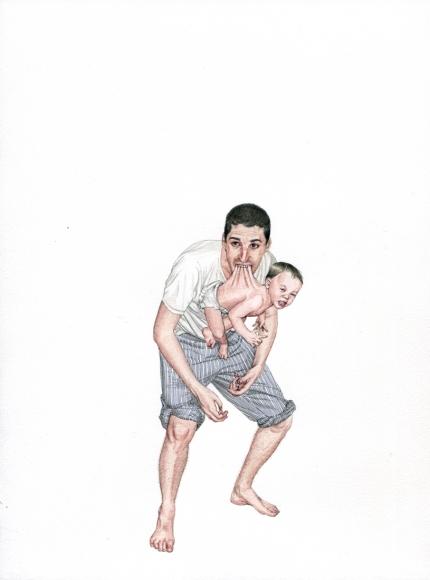 Fabien Mérelle, Etre père, 2011