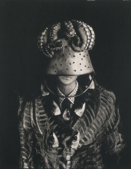 Michiko Kon, Tuna Bone, Octopus and Bucket, 2002