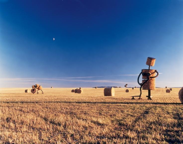 Makin Hay, Utica, Montana