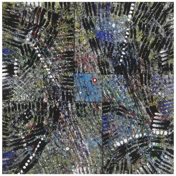 """1133.JPG Proiezione dell'argento 55x 55  21""""x21"""" $2750"""