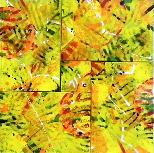 1125 Pro del vento di grano 40 x40cm 16in x16 $2000