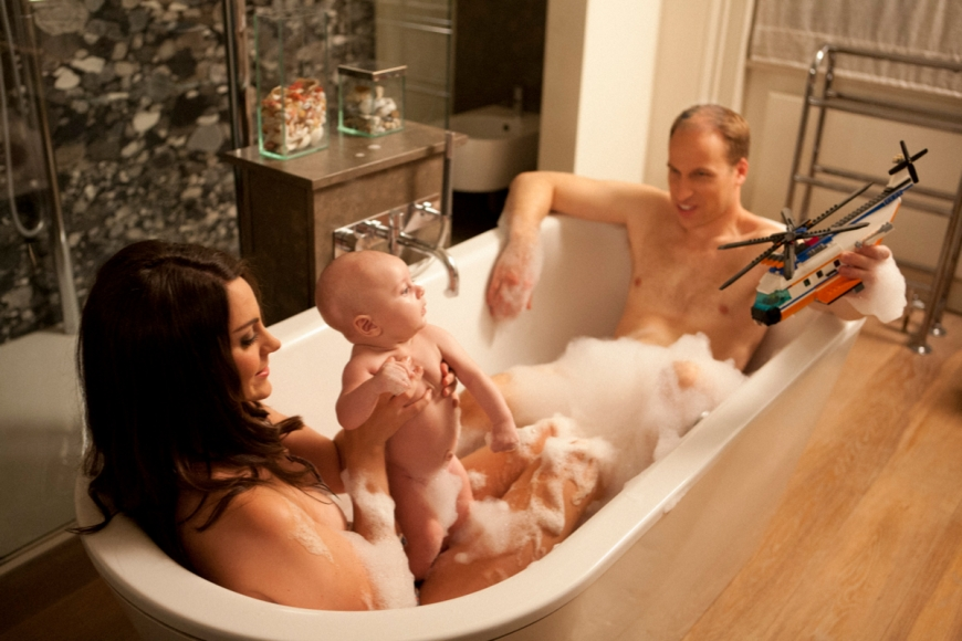 Kate Wills Baby Bath