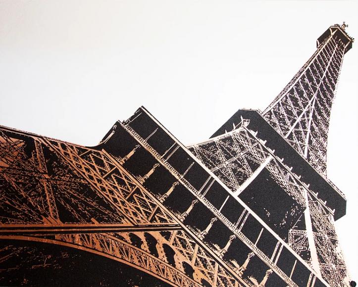 Eiffel Tower Copper