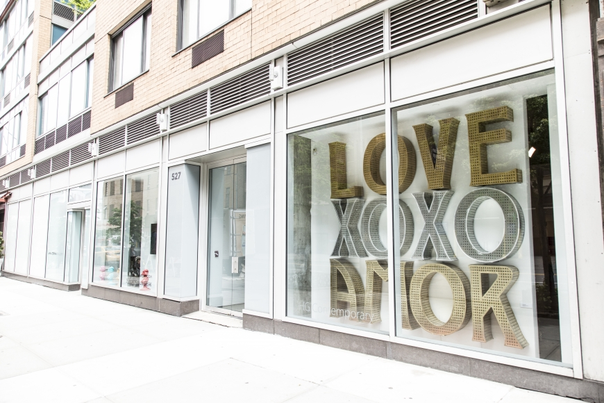 """""""LOVE XOXO AMOR in collaboration with Jeff Schomberg"""""""