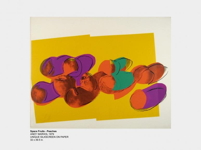Space Fruit Unique 1 - Warhol